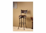 Drummond Swivel Counter or Bar Height Stool - Hillsdale