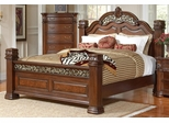 DuBarry Grand Headboard & Footboard Bed - 201821Q