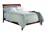 Eastern King Size Low Profile Sleigh Bed - Newport - Modus Furniture - NP18L7