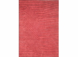 Eastern Weavers Adeline Hand Tufted Modern Rug in Red