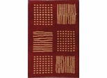 Eastern Weavers Adeline Modern Rug in Red