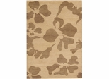 Eastern Weavers Adeline Wool Hand Tufted Beige Brown Rug