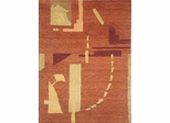 Eastern Weavers Adeline Wool Hand Tufted Rust Rug