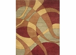 Eastern Weavers Adeline Wool Hand Tufted Sage Rust Rug