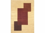Eastern Weavers Arzu Contemporary Beige Rust Rug