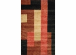 Eastern Weavers Arzu Rust Black Wool Rug