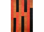 Eastern Weavers Arzu Terra Cotta Hand Tufted Rug