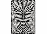 Eastern Weavers Black & White Zebra Rug