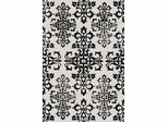 Eastern Weavers Contemporary Black & White Rug