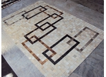 Eastern Weavers Kyle Cowhide Beige Brown Rug