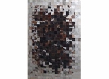 Eastern Weavers Kyle Cowhide Black Grey Hand Crafted Rug