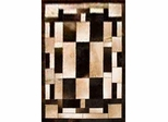 Eastern Weavers Kyle Cowhide Black Ivory Rug