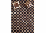 Eastern Weavers Kyle Hand Crafted Cowhide Brown Black Rug
