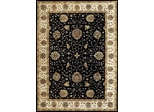 Eastern Weavers Martha Esta Black Ivory Wool Oriental Rug