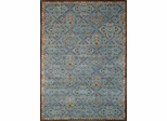 Eastern Weavers Martha Esta Blue Brown Wool Oriental Rug