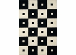 Eastern Weavers Modern Black & White Rug