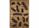 Eastern Weavers Preston Renosand Black Wool Rug