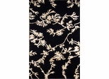 Eastern Weavers Soho Black Beige Tibetan Wool Rug