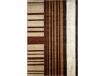 Eastern Weavers Soho Ivory Brown Tibetan Wool Rug