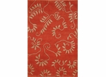 Eastern Weavers Soho Rust Beige Tibetan Wool Rug
