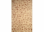 Eastern Weavers Soho Tibetan Wool Rug in Ivory Brown