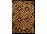 Eastern Weavers Southwest Black Multi Wool Rug