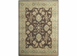 Eastern Weavers Turkish Treasures Chocolate Light Blue Persian Rug