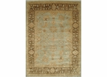 Eastern Weavers Turkish Treasures Light Blue Brown Persian Wool Rug