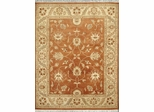 Eastern Weavers Turkish Treasures Persian Wool Rug in Rust Beige