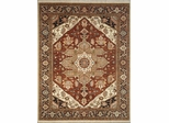 Eastern Weavers Turkish Treasures Rust Charcoal Persian Wool Rug