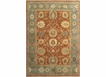Eastern Weavers Turkish Treasures Rust Medium Blue Persian Rug