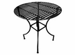 Easy to Assemble Patio Table - Round Black - Pangaea Home and Garden Furniture - FM-C4125RD-K