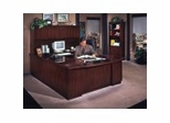 Eclipse Collection in Classic Mahogany - Transitional Office Furniture