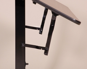 EconoLine Flip Top Table with Melamine Top - Correll Office Furniture - FT2472M