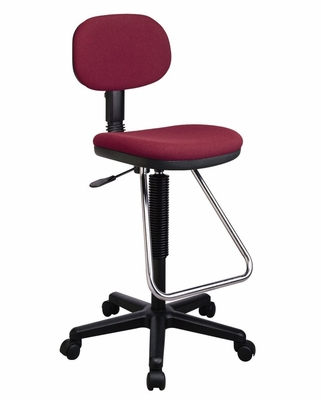 Economical Chair with Chrome Teardrop Footrest - Office Star - DC430