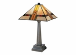 Edmund Mission Style Table Lamp - Dale Tiffany