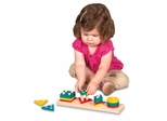 Educational Toy - 1 to 4 Sorter in Multi - Guidecraft - G6704