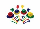 Educational Toy - 27 Piece Cookware Set - Primary - KidKraft Furniture - 63127