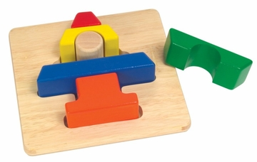 Educational Toy - Chunky Puzzles Tree - Guidecraft - G2018