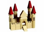 Educational Toy - Table Top Castle Blocks - Guidecraft - G6103