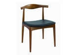 Elbow Dining Chair in Brown - DC-593-BROWN