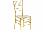 Elegance Crystal Amber Stacking Chiavari Chair - BH-AB-CRYSTAL-GG