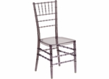 Elegance Crystal Smoke Stacking Chiavari Chair - BH-SMK-CRYSTAL-GG