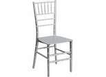 Elegance Silver Resin Stacking Chiavari Chair - BH-SV-RESIN-GG
