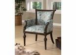 Elegant Exposed Wood Accent Chair - 900220