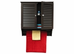 Ellsworth 2 Door Wall Cabinet in Espresso - RiverRidge - 06-024