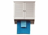 Ellsworth 2 Door Wall Cabinet in White - RiverRidge - 06-023