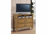 Emily Media Chest in Oak - 202576