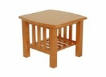 End Table in Honey Oak - Mission - 38-1044-010