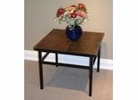 End Table with Slate Top - 4D Concepts - 601624